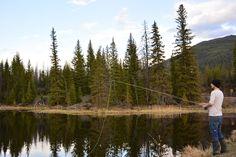 Fly Fishing - Riley Lake, Big Bar Lake Rd, BC - Canada - Work and Travel Kanada - http://workandtravelkanada.com