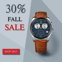 Get a jump on Christmas shopping with our fall sale. Find the perfect mens watch for your guy right here. Swiss Made Watches, Great Gifts For Men, Christmas Shopping, Watches For Men, Guy, Fall, Accessories, Autumn, Top Mens Watches