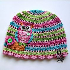 Love this owl hat.