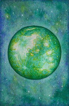 Paintings, Celestial, Outdoor, Art, Outdoors, Craft Art, Painting, Kunst, Outdoor Games