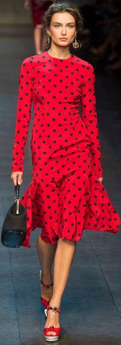 Dolce Gabbana, S/S 2014, RTW