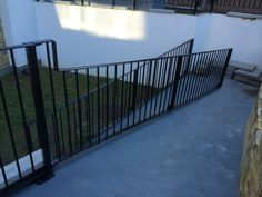 Railings and balustrades for both residential and commercial projects, including fire exit staircases. West London, Railings, Deck, Stairs, Fire, Happy, Outdoor Decor, Projects, Home Decor