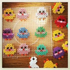 Easter chicks hama beads by annasofiawright Hama Beads Design, Hama Beads Patterns, Beading Patterns, Jewelry Patterns, Easter Crafts, Crafts For Kids, Perler Bead Templates, Peler Beads, Iron Beads