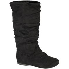 Remy Faux Suede Slouchy Boots - Polyvore