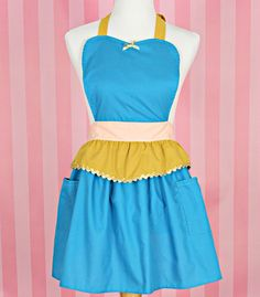 apron JASMINE princess APRON Princess by loverdoversclothing