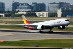 Airbus A350-941 - Asiana Airlines | Aviation Photo #4339721 | Airliners.net