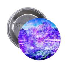 Garden of Serenity Pinback Button
