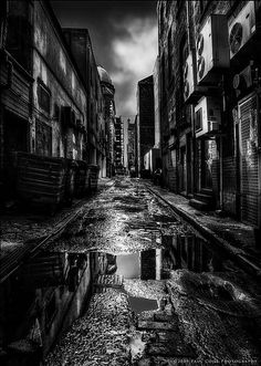 Gotham-City-Style! [Sauchiehall Lane, Glasgow]