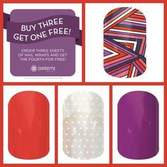 Cute Fingers & Toes by Rose #Book a Jamberry party or order online @ www.rosebottoms.jamberrynails.net