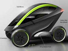 The Ultimate Urban Transportation-- Project Insecta by Moovee Innovations Inc. — Kickstarter.  Introducing a fully electric, zero emissions vehicle designed for daily city life, highlighting revolutionary innovative technologies