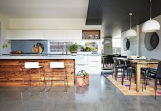 """""""Barwon Heads home. photos: armelle habib for real living, styling: julia green"""""""