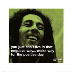 Bob Marley - positive day