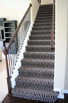 Green patterned stair carpet patterned carpet for stairs best patterned stair carpet ideas on staircase patterned Patterned Stair Carpet, Textured Carpet, Living Room Carpet, My Living Room, Bedroom Carpet, Stairway Carpet, Carpet For Stairs, Hall Carpet, Black And White Stairs