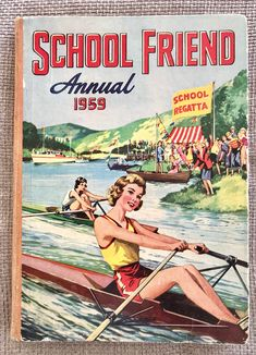 Excited to share this item from my #etsy shop: Vintage School Friend Annual 1959. Nostalgic Images, Vintage Children's Books, Vintage Kids, Vintage Magazines, Vintage Images, Retro Vintage, Vintage School, My Childhood Memories, Childhood Stories