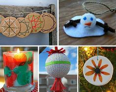 40+ Fun Kids Craft Ideas for Homemade Christmas Decorations-By: Sara Raffensperger, Editor, AllFreeKidsCrafts.com...Many of these Christmas crafts for kids can be done in a classroom as well and taken home to their parents. Below you will find homemade ornaments crafts and decorative crafts for the rest of the house too.