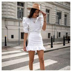 White Dress, Outfits, Dresses, Fashion, Vestidos, Moda, Suits, Fashion Styles, Dress