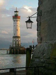 Lindau Lighthouse – Yes, even lakes need lighthouses!