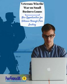 Lending to veteran-owned businesses has fallen but one website is taking on the problem with small business loans for veterans
