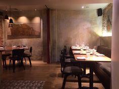The House of Ho / London Soho Hotel, Veni Vidi Vici, Restaurant Interior Design, Step Inside, Restaurant Bar, London, Places, Table, Hair