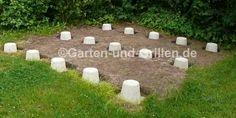 Punktfundament für Gartenhausbau