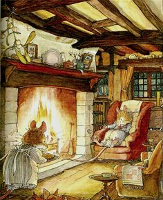 BRAMBLY HEDGE BY JILL BARKLEM | Content in a Cottage