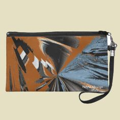 Downsize your #purse with a #fashionable #wristlet from NANOdesign. Made to fit everything you need day or night, it's a #stylish look for every occasion and event. http://www.zazzle.com/designer_wristlet-223752564003892872