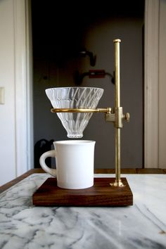 happy hour of the morning made even happier with the addition of this stylish filtered coffee maker