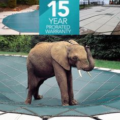 The main goal of #LOOPLOC #Safety #Pool Covers is safety, and we back it with a 15-year prorated warranty to help your pool outlast the harshest of winters.