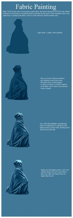 originally posted in CGPAD very simple, quick tutorial on how i paint fabric. any questions, leave a comment. i will answer you. i did this in photoshop, but the same principle will apply in any fa...