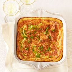 Double-Corn Spoonbread serves 6 from Good Housekeeping