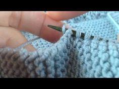Nuevo video en Puntos Básicos | miraloquese.com, punto dos agujas, tejer, knitting, coser, cocina,
