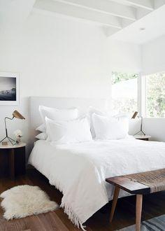 Au Lit Fine Linens   Beautiful Beds: Minimal