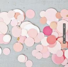 Like this - diy wedding confetti - made from paint chips | CHECK OUT MORE GREAT PINK WEDDING IDEAS AT WEDDINGPINS.NET | #weddings #wedding #pink #pinkwedding #thecolorpink #events #forweddings #ilovepink #purple #fire #bright #hot #love #romance #valentines #pinky