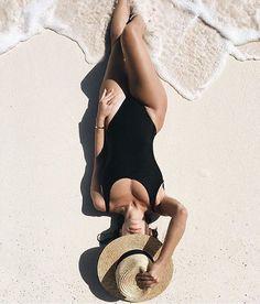 beach daze @nicoleisaacs in 'The Spencer Fedora'