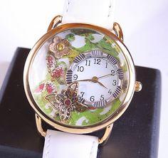 Butterfly Watch Working Watch Time To Garden Watch by DesignsBloom, $37.50