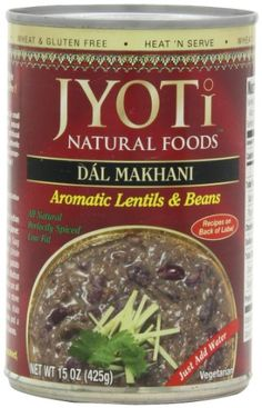 Jyoti Natural Foods Dal Makhani, Aromatic Lentils and Beans, 425 gram Cans,  (Pack of 12) >>> Find out more details @ : Quick dinner ideas