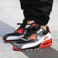 new product d3592 f931a Nike Air Max 90 InfraRed Inverted Trainer Tenis Nike Air Max, Nike Air Max  Mens
