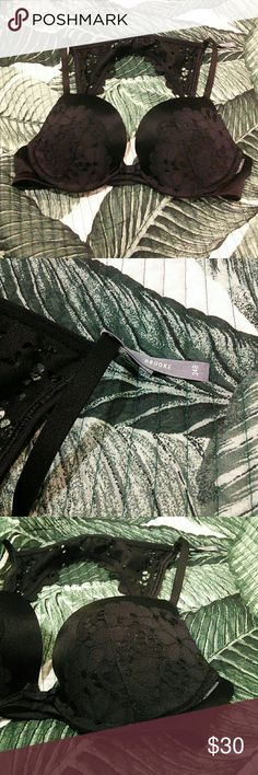 NWOT Aerie Brooke Lace Bra Brand new without original tags attached  Still has ribbon on straps and plastic where original tags were attached to  Size 34B  Super cute crochet lace Detailing  Slight Padding cups  *NO TRADES!!* aerie Intimates & Sleepwear Bras