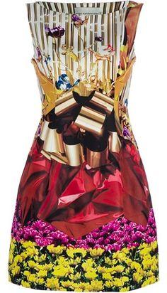 MARY KATRANTZOU Harp Hazard Dress