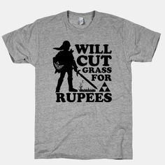 Cut Some Grass for some Rupees | HUMAN | T-Shirts, Tanks, Sweatshirts and Hoodies