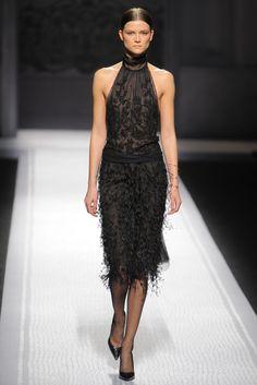 Alberta Ferretti RTW Fall 2012 - dark romance