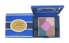 Christian Dior 5 Couleurs/5-Colours Eyeshadow Compact Palette 7 g/0.24 oz Final 902 Final: Brun Pourpre/Brownish Purple, Beige Nacre/Beige Pearl, Brun Dore/Gilded Brown, Vert Paon/Peacock Green, Cardinal Violet ** For more information, visit image link.