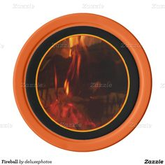 Fireball Poker Chips