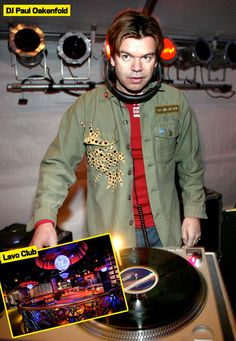 DJ Paul Oakenfold Parties with Friends At NYCsLAVO!