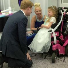 twitter: Prince Harry, patron of WellChild, attended the WellChild Awards and talked with Maddison Sherwood, September 22, 2014