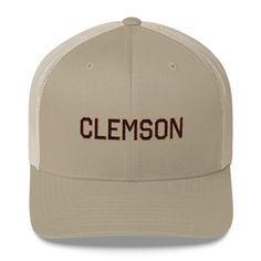 Clemson Football Mesh Trucker Snap Back Hat