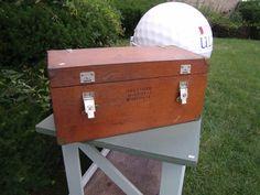 Vintage Wood Box - TomeTraders.com - SOLD!