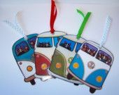 VW Bus Cats Bookmarks