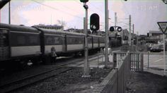 Are New Zealand trains safe? - Silly girl on phone has near miss with tr...