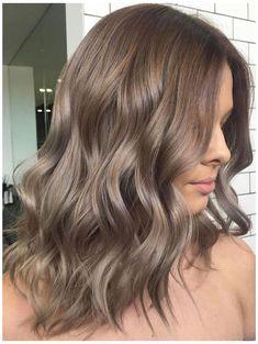 Ash Brown Hair Color, Brown Hair Shades, Brown Blonde Hair, Light Ashy Brown Hair, Light Brunette Hair, Silver Blonde, Cool Brown Hair, Brown Hair Looks, Grey Blonde